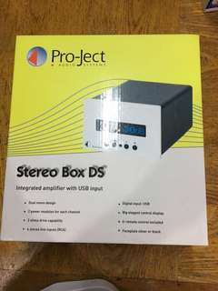 Project Stereo Box DS amplifier