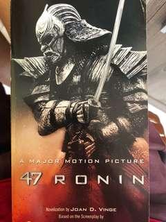 🚚 47 ronin book!