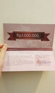 Ritz Prince Crown Voucher