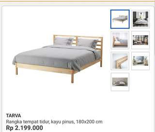 For Sale New Tarva Ikea Bed