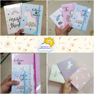 Unicorn Medium notebook