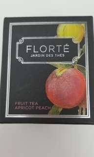 Florte tea apricot peach 花茶 買5送1 buy5 get 1 free