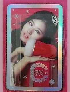 (WTB) Twice Christmas photocards