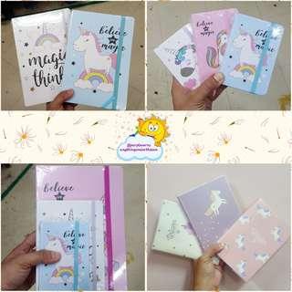 Unicorn Large Notebook