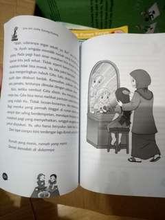 Novel anak Gita dan seribu kunang