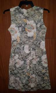 Floral sleeveless dress (from MG Gamboa)
