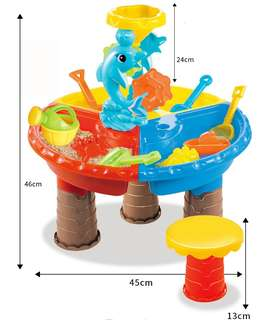 Children Sand and Water Table Toys Water Play Sand Play Kinetic Sand Magic Sand