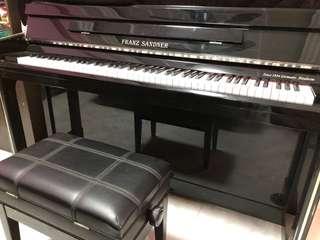 Beautiful Studio Piano (Great Quality)