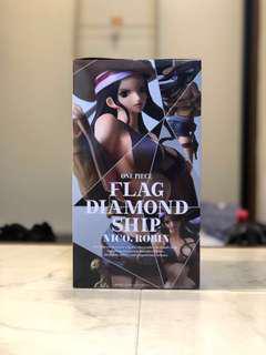 Flag Diamond Ship Nico.Robin