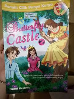 Novel anak Butterfly Castle 2