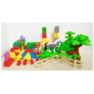 Mainan Edukasi Anak Lego Blok Tema Peternakan