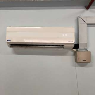Carrier Aircond 1HP • Ionizer