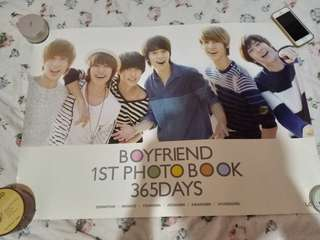 Boyfriend Official (1st Photobook) Posters with FREE TUBE