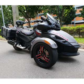CAN-AM SPYDER 998A Reg date 09/06/2011 Mileage 19,000km 3 Owners