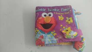 Elmo bed time book