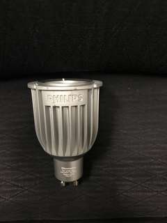 Philips Dimmable Master LED GU10 7W equivalent to 50W 40 deg