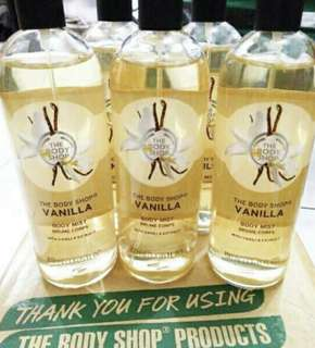 Vanilla The Body Shop ORIGINAL