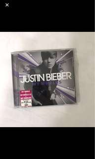 #movingsale justin bieber my world / my worlds multi album cd
