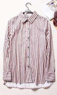 Gucci Striped Long sleeve dress shirt