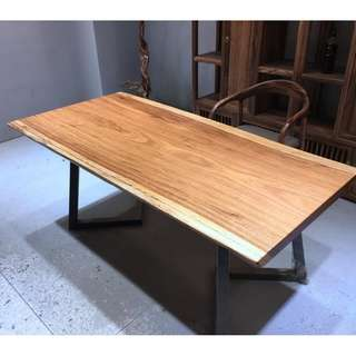 TZEB 004  GSS Offer Top Grade Zebrano Zebrawood Wood Table