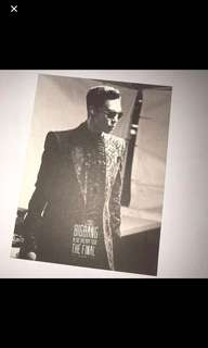 Big Bang Top 小卡 / postcard