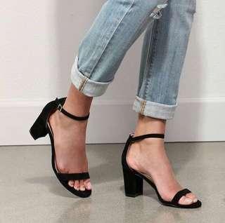 "Strappy 4"" Block Heels"