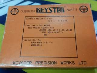 Mitsubishi Galant Carburetor Repair Kit