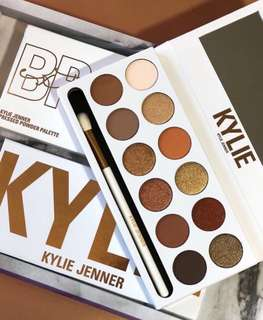 🚚 🌈INS Kylie Cosmetics The Bronze Extended Palette Kyshadow