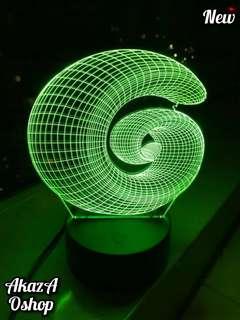 Lampu Hias LED 3D GSnail