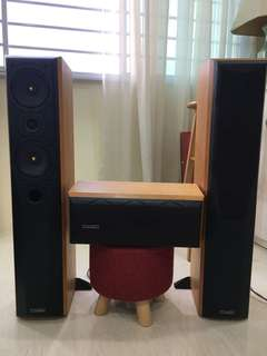 Mission Twin Tower speakers