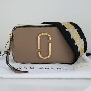 Marc Jacobs Snapshot shoulder bag brown