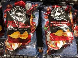 澳洲代購Red Rock Deli 多款口味薯片120g3包-全網最平👍