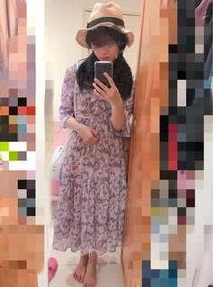 🚚 韓版小碎花洋裝