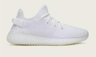 Adidas yeezy color white
