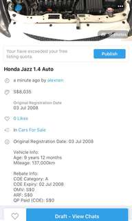 Honda Jazz 1.4A
