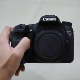 Canon 70D body SC3K only