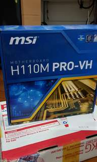 MSI Motherboard H110M PRO- VH