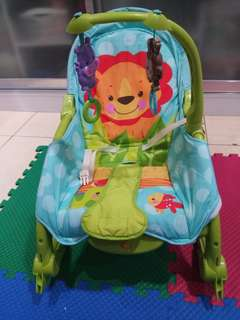 Fisher price rocker and chair