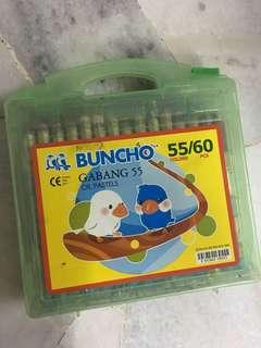 Buncho crayons 60 pcs