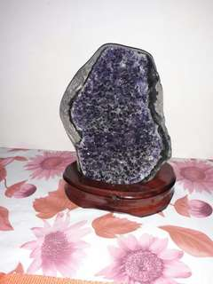 Amethyst Display(up for auction)