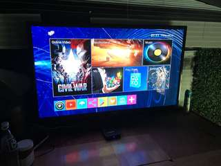 TV Box with USB Gamepad controller