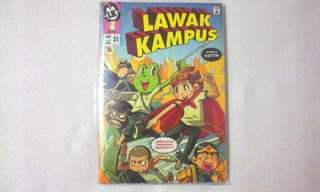 Lawak Kampus 31 + Ami Yumi Badge