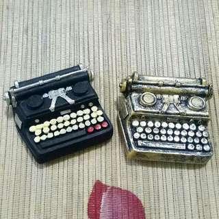 Magnet Kulkas Vintage Mesin Tik