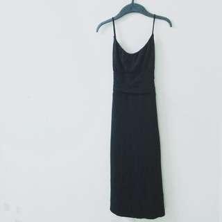 Strapless Black formal dinner Dress