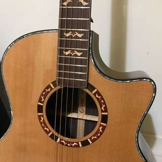 Crafter Solid top & back Acoustic Guitar