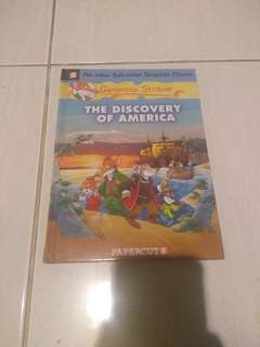 Geronimo Stilton-The Discovery of America (Graphic Novel) import//Hardback