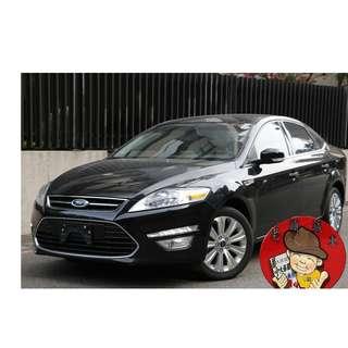 【老頭藏車 】2014 Ford Mondeo『0元就把車貸回家 』『全貸,超貸,免保人』中古 二手 汽車