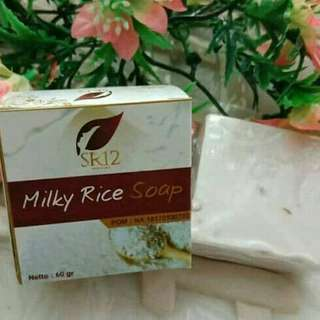 Sabun milk rice sr12