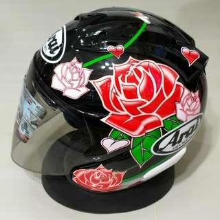 Miglia Rose Helmet
