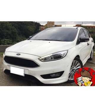 【老頭藏車 】2016 Ford Focus『0元就把車貸回家 』『全貸,超貸,免保人』中古 二手 汽車